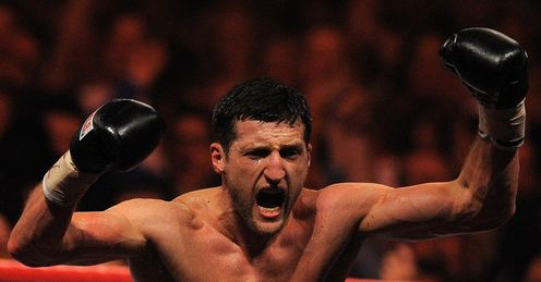 Froch: Will be celebrating again on Saturday night, says Jim