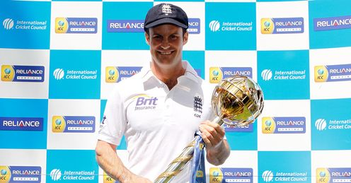 In his hands: Strauss' side must win the series to stay number one in the world