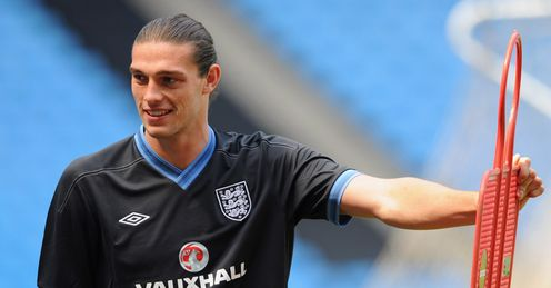Carroll: looks like an England starter
