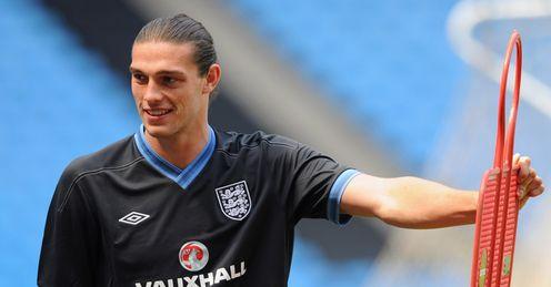Carroll: looks like an England starter