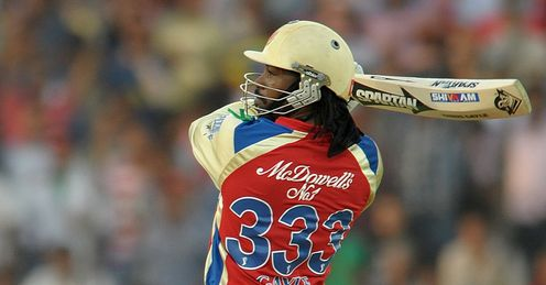 Chris Gayle Bangalore Royal Challengers