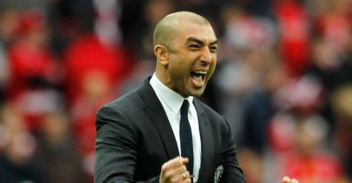 Di Matteo: can he become the 10th Italian manager to win the European Cup?