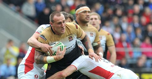 Hock: in fine form for Wigan