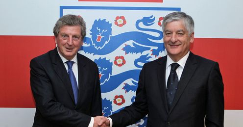 Roy Hodgson David Bernstein England press FA Wembley