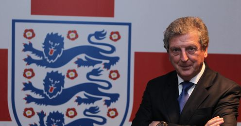 Roy Hodgson England crest press FA Wembley