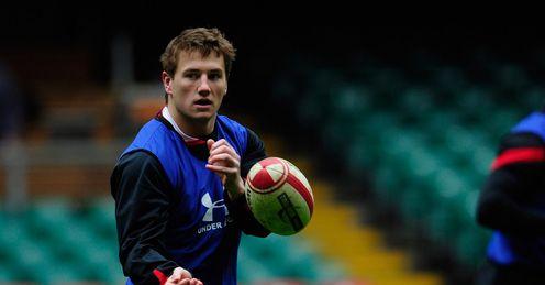 Jonathan Davies Wales training 2012