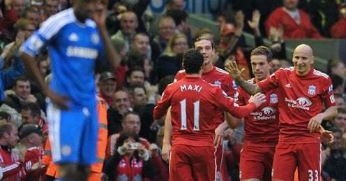 Jordan Henderson Liverpool Chelsea Premier League
