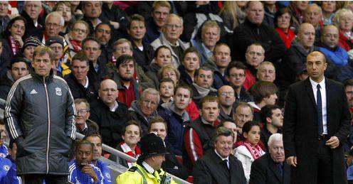Kenny Dalglish Roberto Di Matteo Liverpool Chelsea Premier League