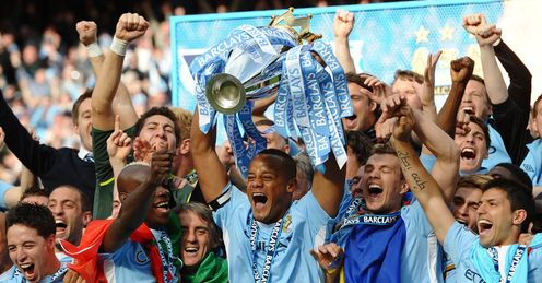 City celebrate their epic title victory