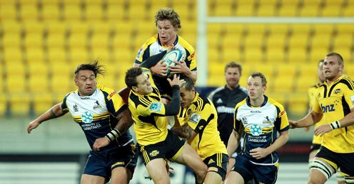 Michael Hooper Brumbies v Hurricanes