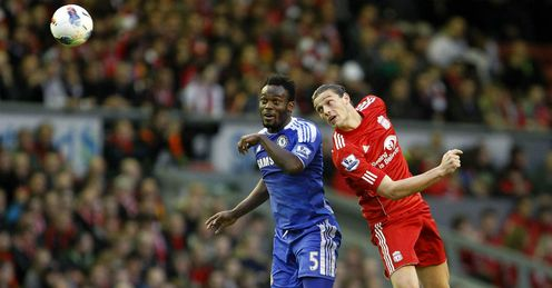 Michael Essien Andy Carroll Liverpool Chelsea Premier League