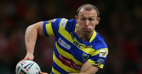 Mick Higham: Warrington hooker