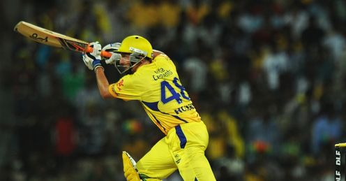 Mike Hussey Chennai Super Kings