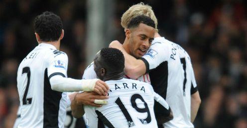 Moussa Dembele Fulham vs Sunderland