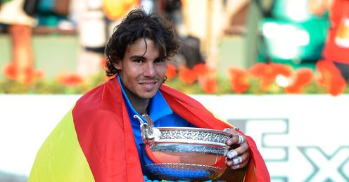 All wrapped up? Nadal has emerged victorious each year from 2005-2011, save 2009