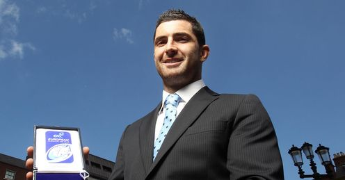 Rob Kearney: Crowned European Rugby player of the year