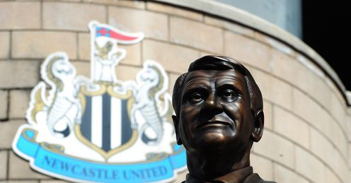 Sir Bobby Robson statue Newcastle St James Park