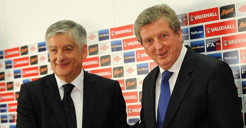 Roy Hodgson David Bernstein England Manager Press Conference