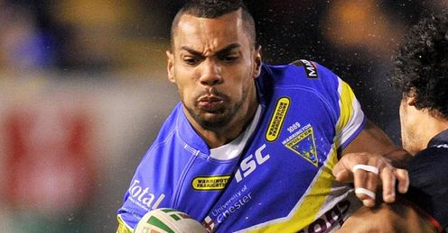 Ryan Atkins - Warrington - Super League