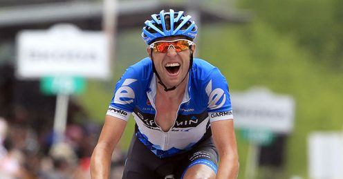 Joy for Hesjedal