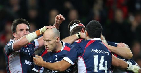 Stirling Mortlock celeb Melbourne Rebels v Crusaders 2102