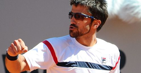 Tipsarevic: faces Nalbandian in one of the opening round's glamour ties