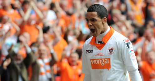 Ince: the Blackpool trickster, linked with a return to Liverpool, has impressed Beags this season