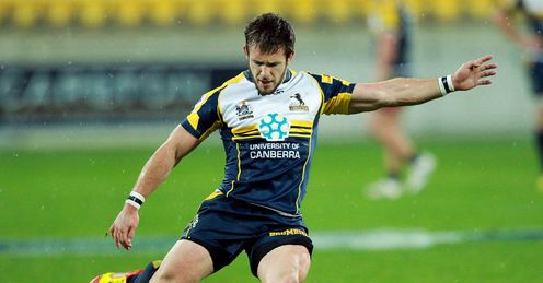 Zack Holmes Brumbies v Canes 2012