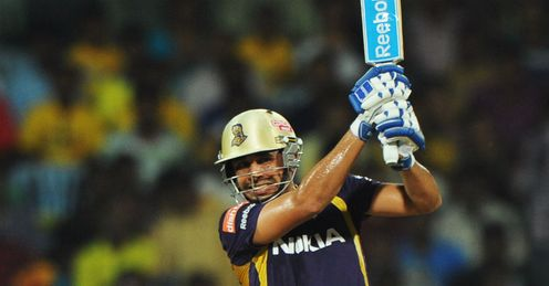 Manvinder Bisla Kolkata Knight Riders 2012 Indian Premier League