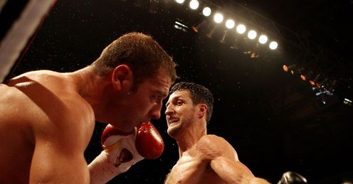 Froch gets stuck into Bute