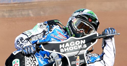 Holder:in impressive form for Poole