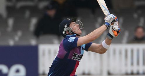 Joe Denly Middlesex batting at Lords