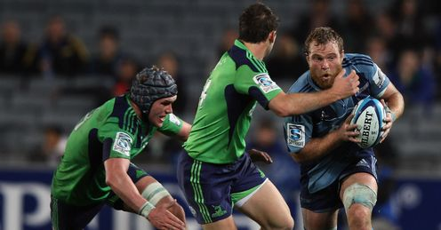 Luke Braid Blues v Highlanders Super Rugby Eden Park Auckland