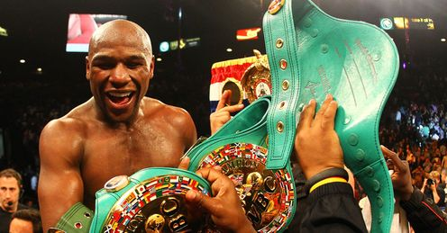 Mayweather: not brave enough in the ring, says Glenn