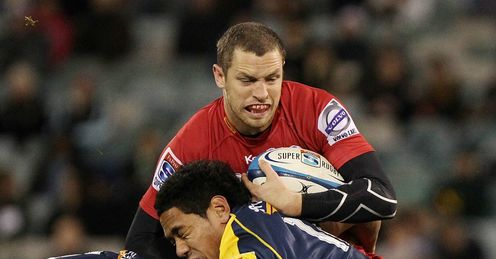 Luke Morahan Queensland Reds v ACT Brumbies Super Rugby Canberra Stadium