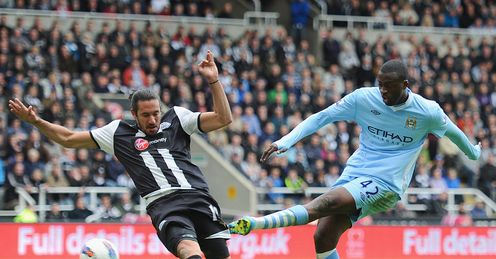 Toure: Double at Newcastle fired City to brink of title last term