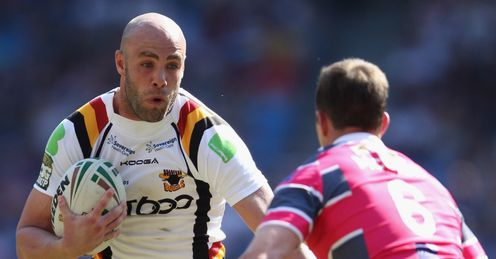Adrian Purtell Bradford Bulls v Leeds Rhinos Super League Magic Weekend Etihad Stadium Manchester