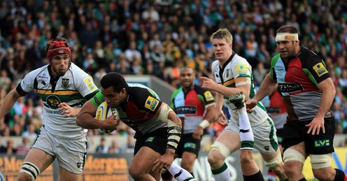 Harlequins Northampton semi final