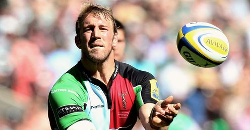 Robshaw: Quins skipper was superb in Premiership final, says Stuart