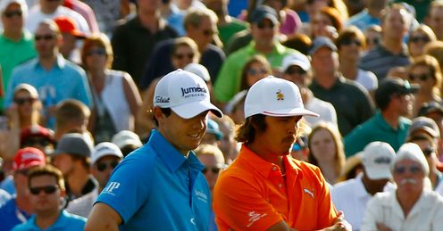 McIlroy and Fowler: can either of them conquer Sawgrass