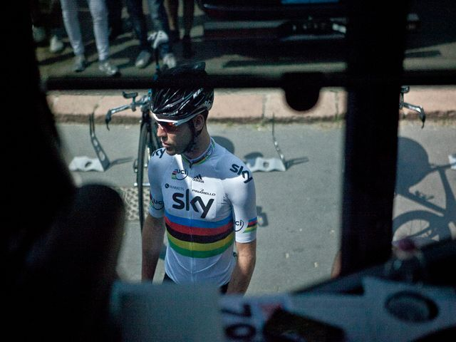 Mark Cavendish prepares to take on the 30-kilometre course to bring the curtain down on the race