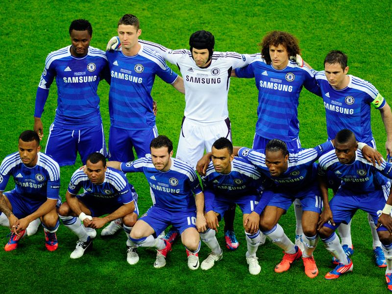 Chelsea Champions League final lineup 2767797 Drogba Completes Romans dream