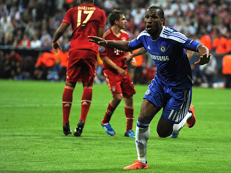 Didier Drogba Chelsea Champions League final2 2767859 Drogba Completes Romans dream