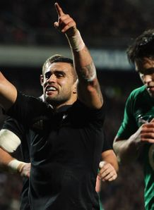 Liam Messam New Zealand v Ireland 2012