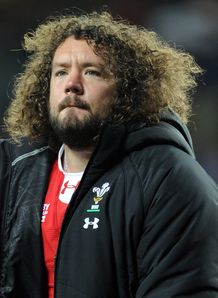 Adam Jones Wales RWC 2011