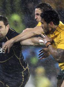 Australia v Scotland Sean Lamont Digby Ioane