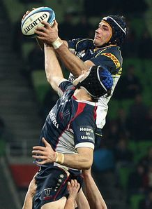 Ben Mowen Brumbies v Rebels 2012