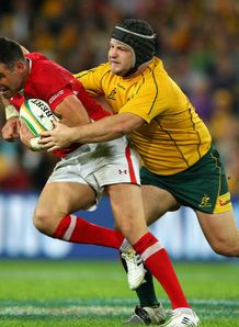 Benn Robinson Mike Phillips Australia v Wales