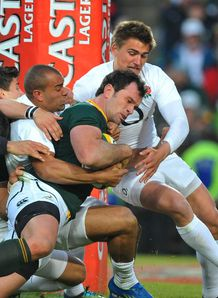 Bismarck du Plessis try South africa England 2nd test