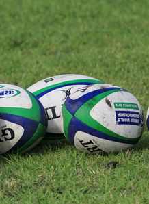 IRB Junior World Championship rugby balls